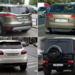 Самые крутые номера на авто в России